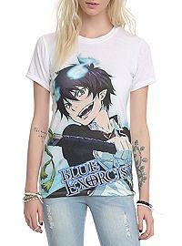 HOTTOPIC.COM - Blue Exorcist Rin Sublimation Girls Top