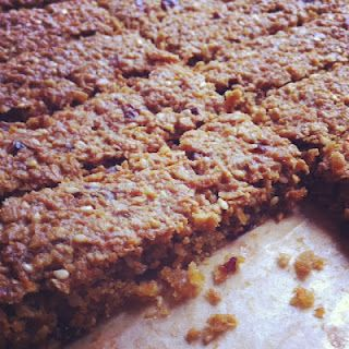 Flapjacks with hidden vegetables. Carrot & dried fruit. Perfect for kids and adults too! 3 WeightWatchers ProPoints Per Bar