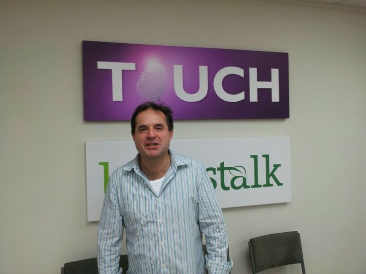 At the seminar at Touch Marketing offices