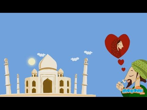 http://mocomi.com/ presents Fun Fact Series Episode 06 - Taj Mahal Taj Mahal was built by Mughal Emperor Shah Jahan in the loving memory of his beautiful wif...