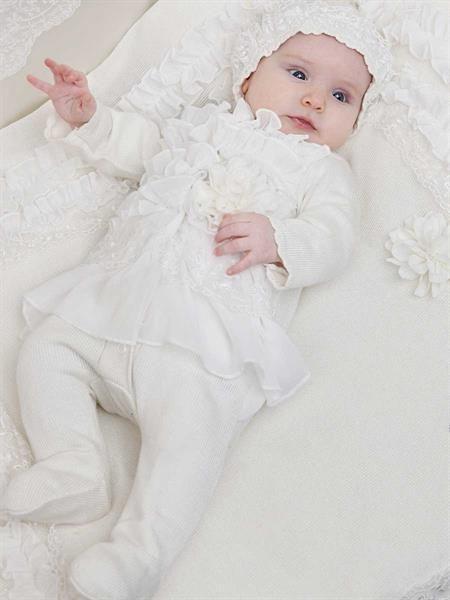 Платье на выписку для новорожденной