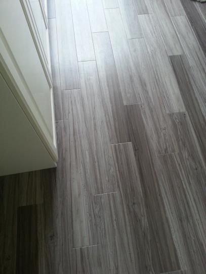 TrafficMASTER Allure Plus 5 in. x 36 in. Grey Maple Resilient Vinyl Plank Flooring (22.5 sq. ft. / case)-97514 - The Home Depot