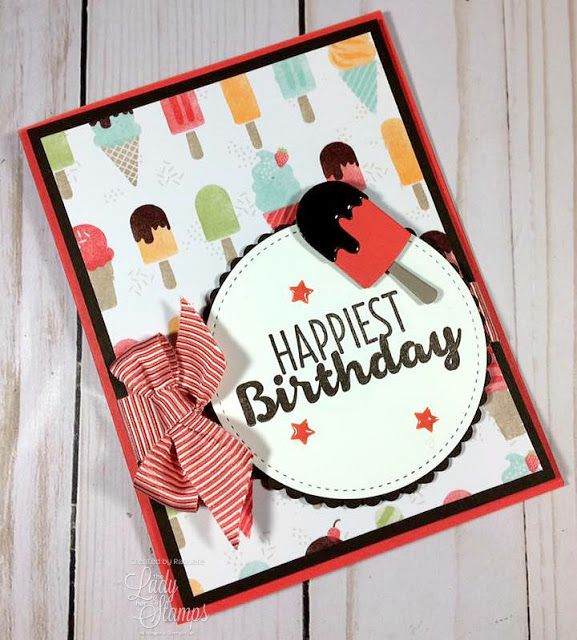 Raquelle | Cool Treats Birthday Card! | Stampin' Up!