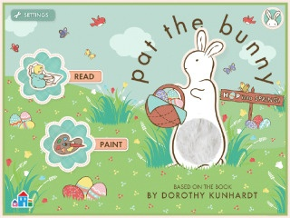 The Pat the Bunny app is great for #Easter and beyond, especially for your littles.