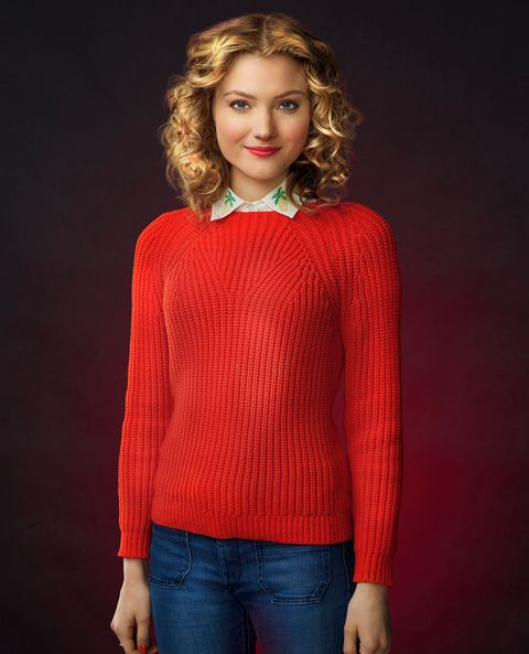 Grace Gardner as Skyler Samuels in Scream Queens