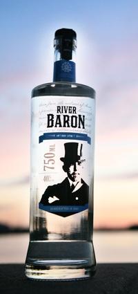 Mississippi River Distilling Company - LeClaire, Iowa - River Baron Artisan Spirit