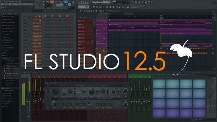Fl Studio 12 5 What S New Digital Audio Workstation Music Software Digital Music