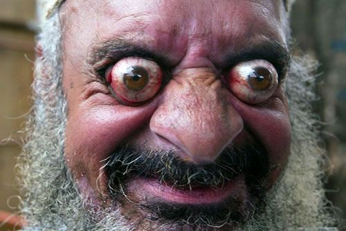 Cross Eyed Funny Looking Funny Memes About: Scary-eyes-dude- #creepy #eyes #face