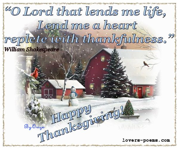 ... Messages, Love Words, Prayers, Poems, Friendship: Happy Thanksgiving