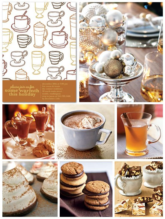 Warm Winter Party Inspiration Board