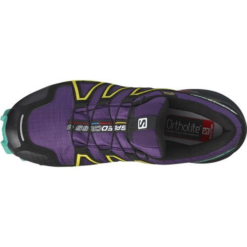 Salomon Women's Speedcross 4 Gore-Tex Trail Running Shoes (Purple/Turquoise or Aqua, Size 5) - Women's Outdoor Shoes at Academy Sports