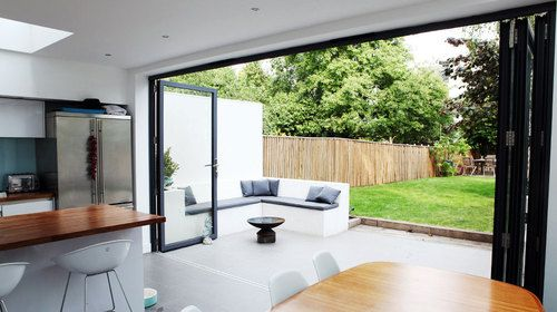 Bi Folding Sliding Patio Doors Aluminium SPECIAL OFFER (2) | eBay