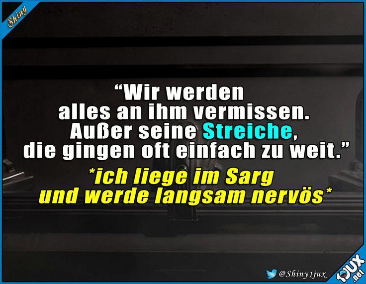 Langsam kommen doch Zweifel #Streich #schwarzerHumor #Witze #Humor #lachen – Birgit Müller