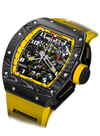 Richard Mille - Richard Mille Flyback Chronograph Yellow Storm | EMWA - Relojes Cartier, Hublot, IWC y más joyería de lujo.