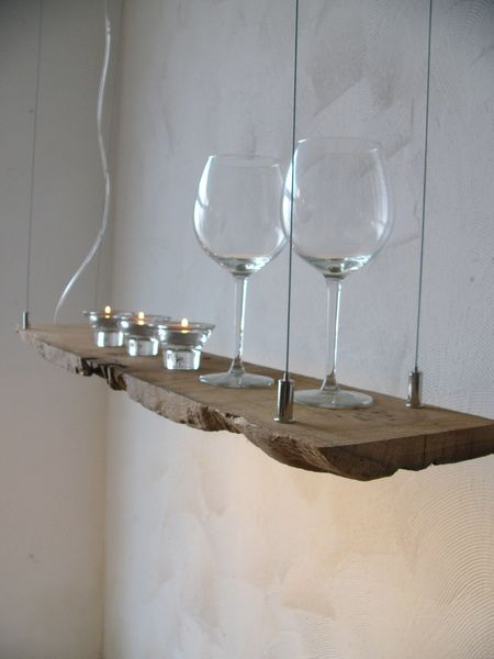 Driftwood lamp, LED and Lamps on Pinterest