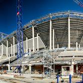 Galerie photos du chantier du Nouveau Stade de Bordeaux Mars 2014