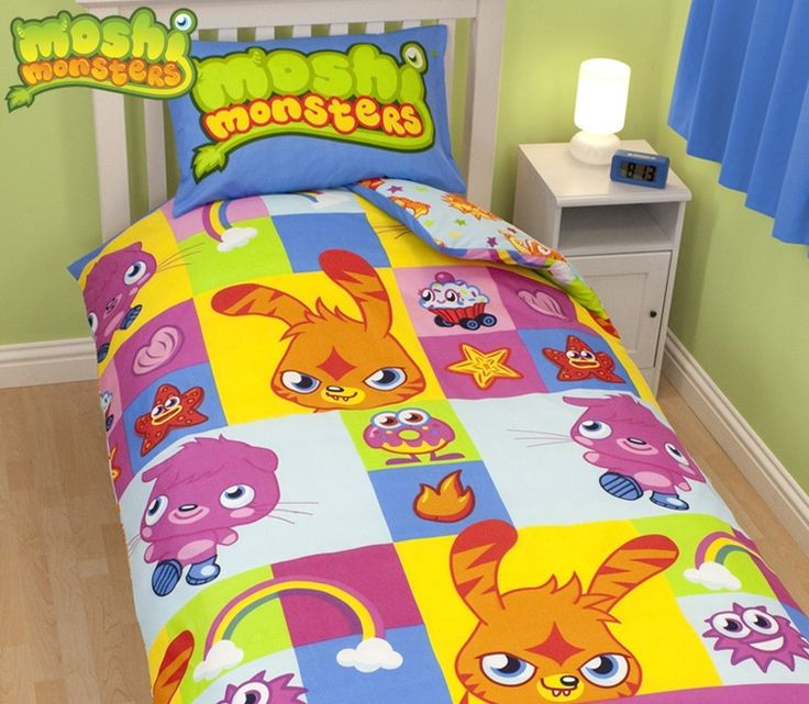 Moshi Monsters Single Duvet Cover Set