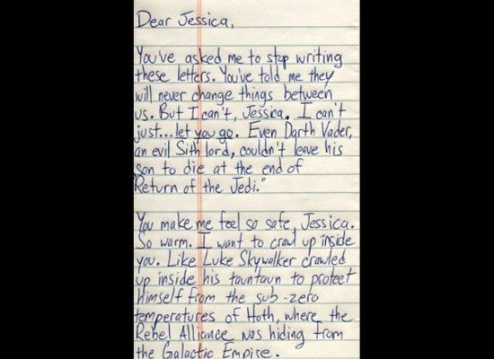 The Most Absurd Break-Up Letters Of All Time I choose to believe there is someone for this guy somewhere....