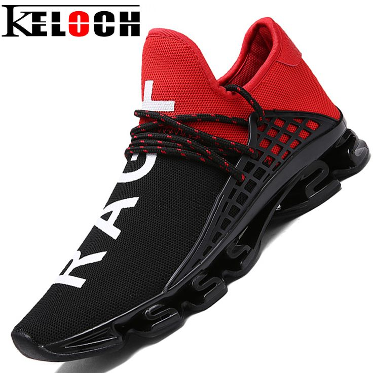 Keloch Man Running Shoes For Men Nice Trends Run Athletic Trainers Black Zapatillas Sports Shoe Outdoor Walking Sneakers
