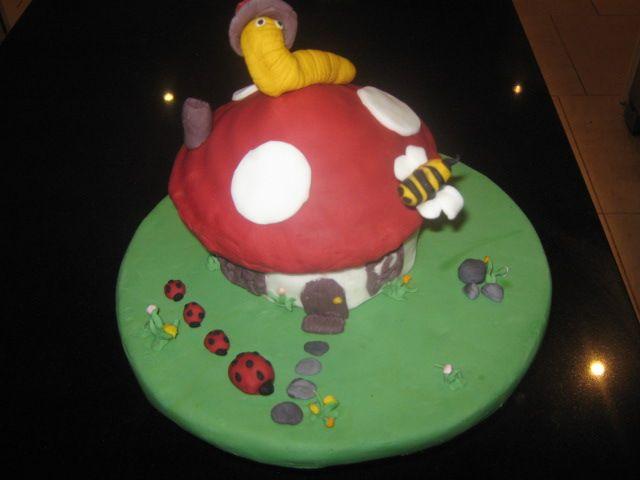 My toadstool cake