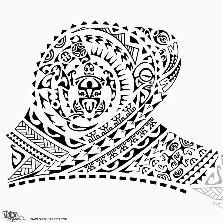 Tatuaggio di Toa, Guerriero, vittorioso tattoo - custom tattoo designs on TattooTribes.com