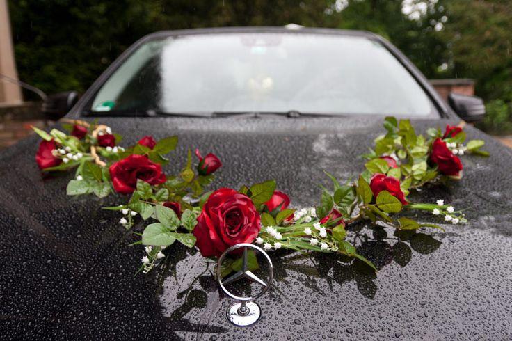 Privater Auftraggeber, Goldene Hochzeit, Auto & Blumengesteck, 05-2013