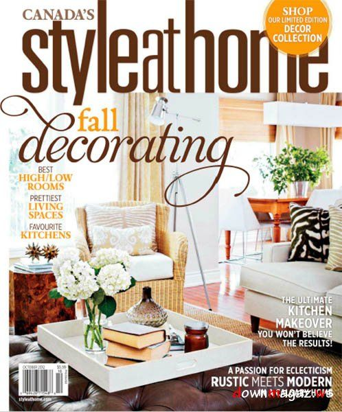 Style At Home Magazine October 2012