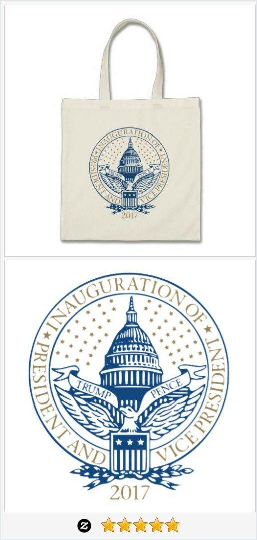 #Trump #Pence President Inaugural Logo #Inauguration Tote Bag #giftideas #JustSold #ThankYou :) http://www.zazzle.com/trump_pence_president_inaugural_logo_inauguration_tote_bag-149560776267744954