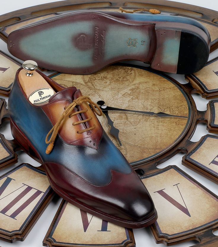 A modern touch on a pair of timeless classic @paulparkman wingtip oxfords Website : www.paulparkman.com