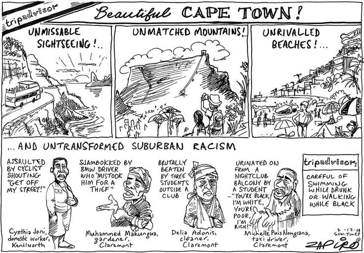 Zapiro: What TripAdvisor doesn't tell you about Cape Town