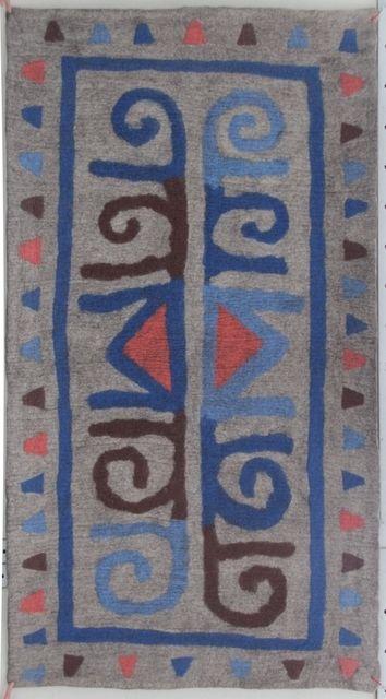 Ala kiyiz - felt rug. 100% sheep wool. Solid felted, seamless. Handmade in Kyrgyz Republic.