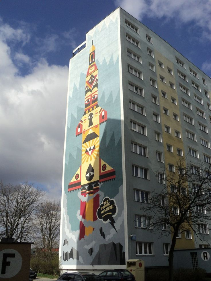 Monumental mural, Zaspa - Gdańsk