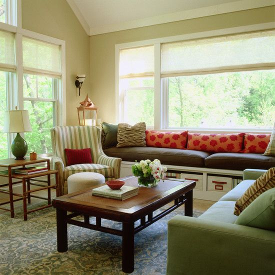 Living Room Built In Storage: 1000+ Ideas About Built In Bench On Pinterest