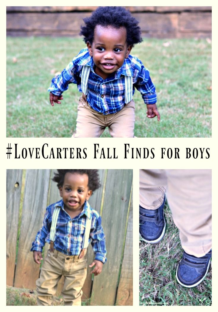 Carters boys fall clothes. A must have for any stylish kid. #LoveCarters #ad