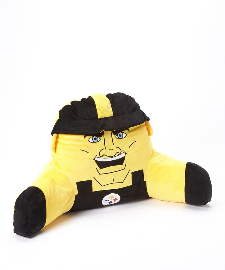 Take a look at this Pittsburgh Steelers Mascot Lounge Pillow on zulily today!