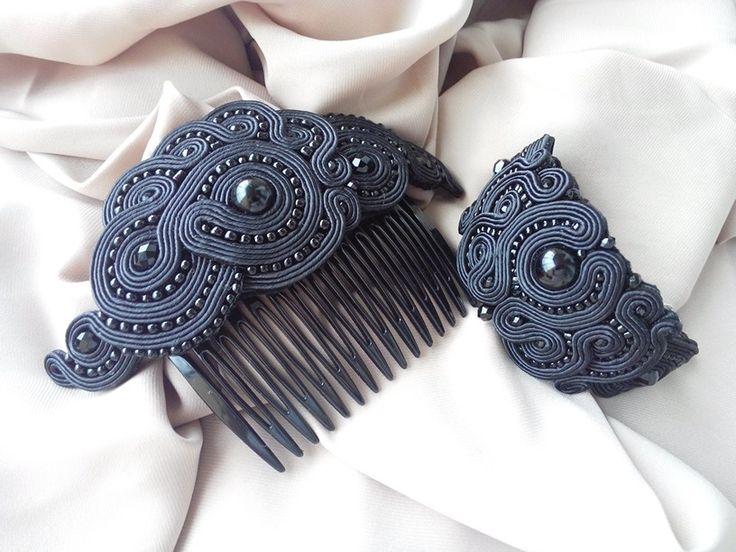 Black Soutache Set