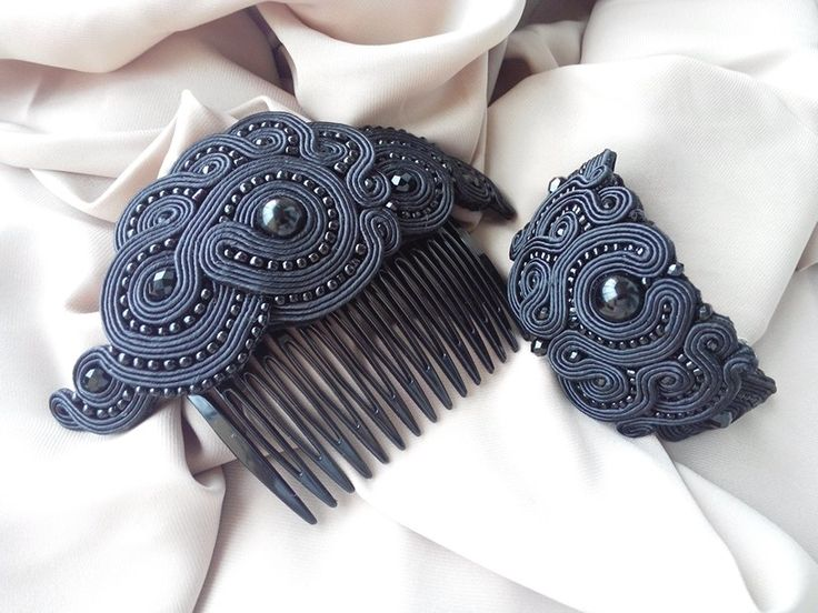 Black Soutache Set
