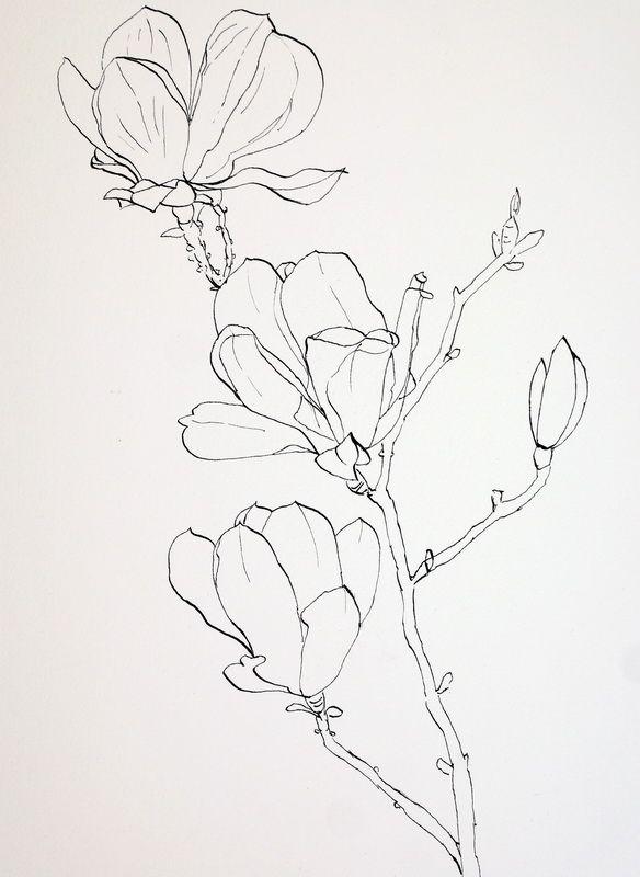 Цветы рисунок эскиз тату