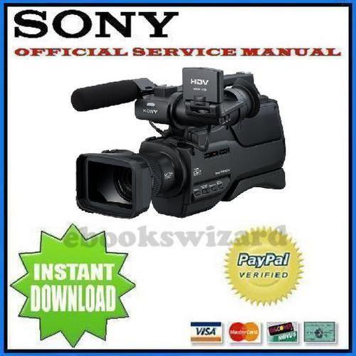 Sony HVR HD1000 U N E P C Series Service & Repair Manual