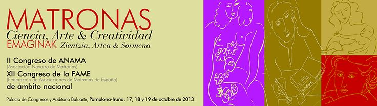 Congreso de Matronas 2013, 17-19 de octubre Baluarte Pamplona