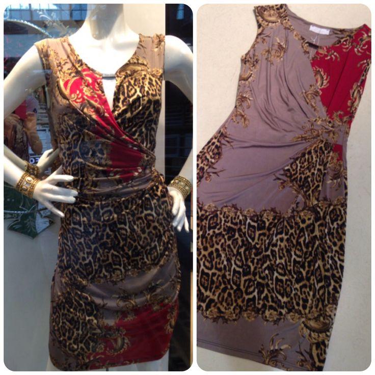 Wrap dress at #NICCI