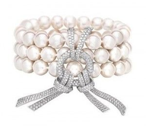 Chanel Pearl & Diamond Bracelete ~ WOW!!