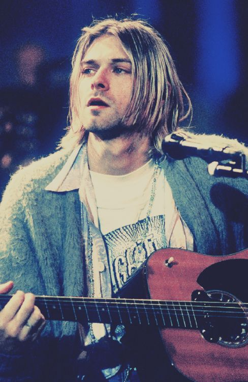 Kurt Donald Cobain (February 20, 1967 – c. April 5, 1994) happy birthday legend hope you're having it good up there.