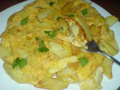 Ομελέτα με πατάτες,γάλα,και τυρί .Γρήγορη λύση και εύκολη ,αρέσει πολύ στα παιδάκια! ~ ΜΑΓΕΙΡΙΚΗ ΚΑΙ ΣΥΝΤΑΓΕΣ