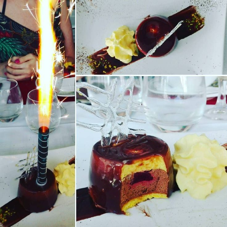 Quando si hanno una compagna speciale e un'amica speciale (e chef)... grazie Pensacuoca e @elisa_peccati_di_gola e ancora tanti auguri a me! #birthday #40th
