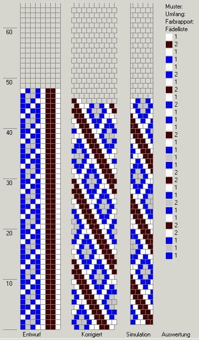 Schlauchketten häkeln - Musterbibliothek: pat_bcr_29_gd