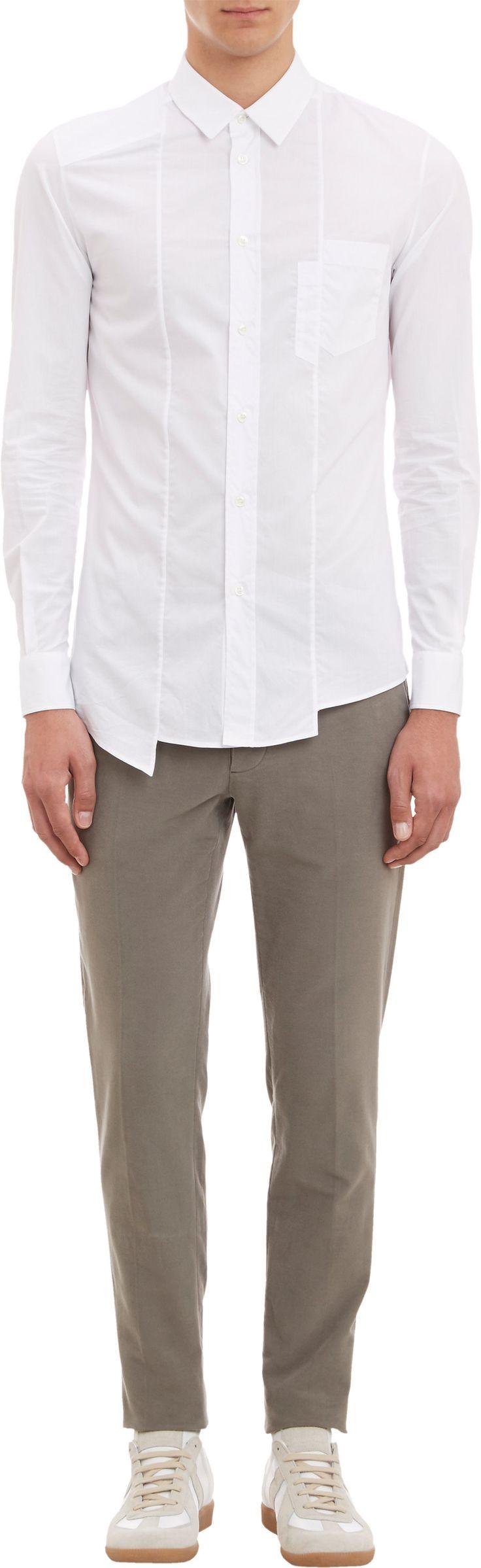 Maison Martin Margiela Spliced-Seam Shirt at Barneys.com