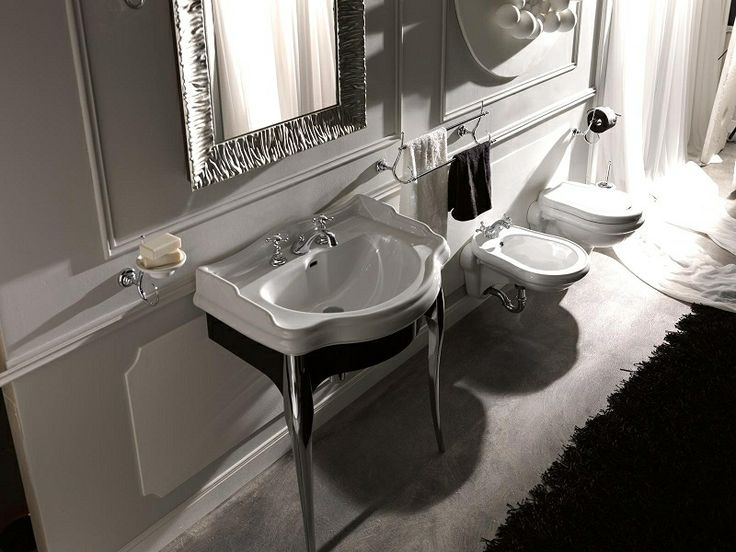Kerasan łazienka retro