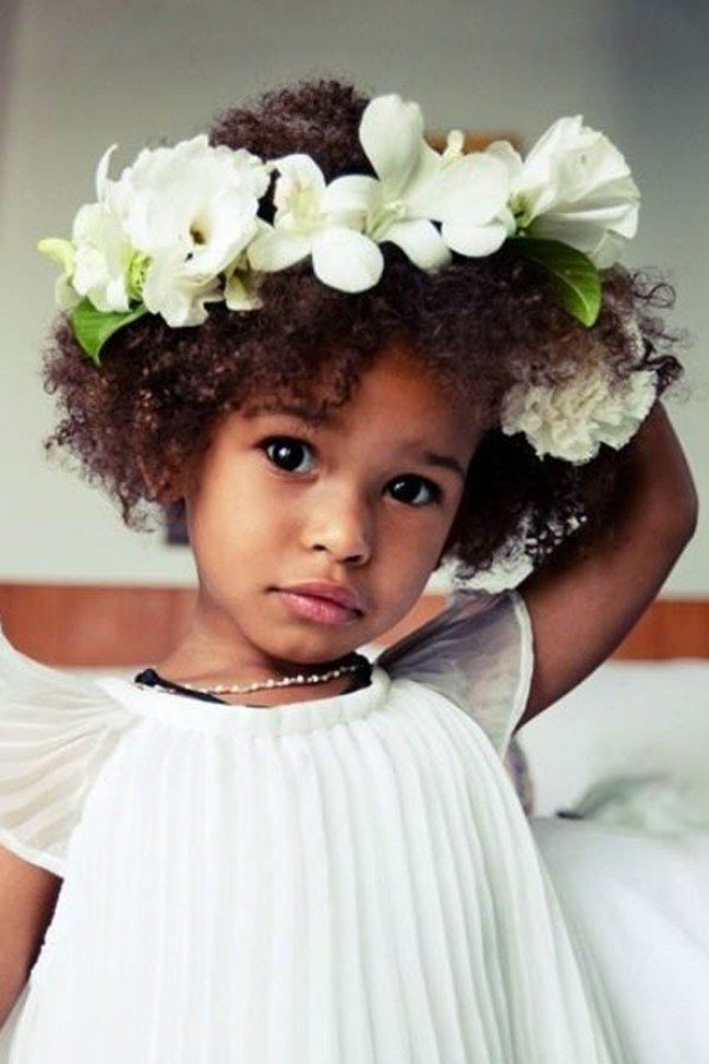 Flower Power - Penteados afro lindos para menininhas cheias de estilo