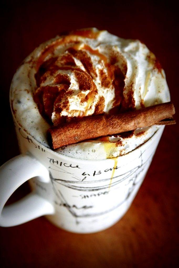 ☕ #Cappuccino & whip cream ☕ #coffee